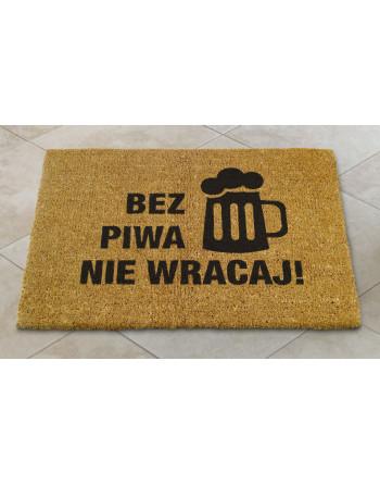 """Logomata kokosowa """"Bez piwa nie wracaj"""""""