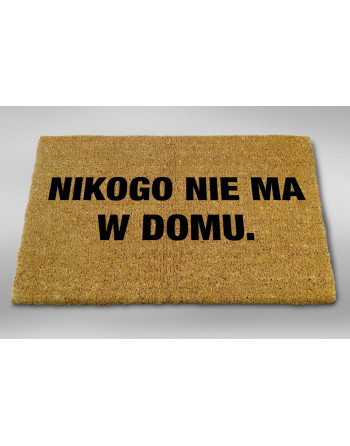 "Logomata kokosowa ""Nikogo nie ma"""