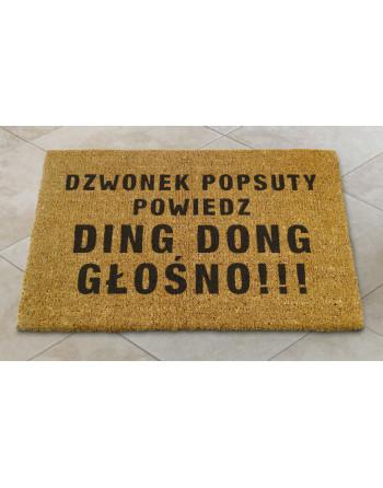 "Logomata kokosowa ""Dzwonek popsuty"""