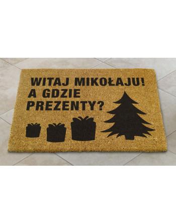 """Logomata kokosowa """"Witaj Mikołaju"""""""